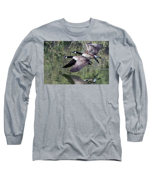 Canada Geese Long Sleeve T-Shirt