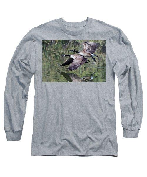 Canada Geese Long Sleeve T-Shirt