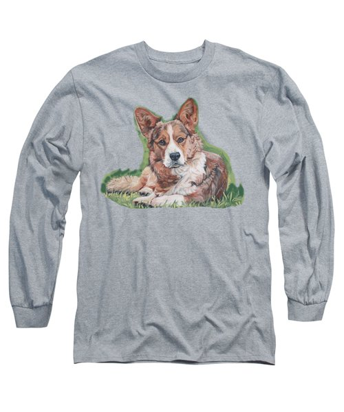 Cardigan Welsh Corgi Long Sleeve T-Shirt