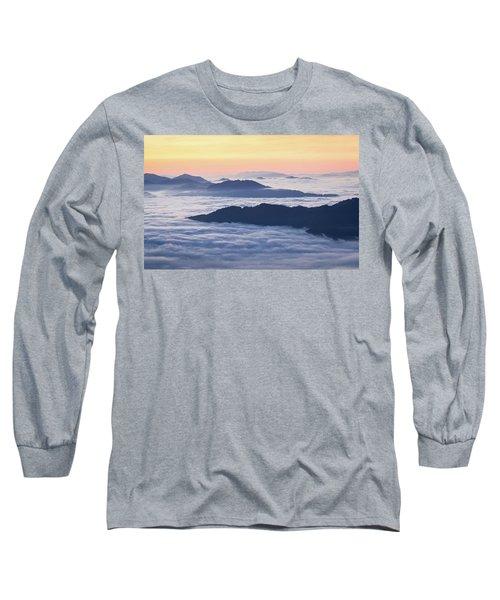 Cataloochee Valley Sunrise Long Sleeve T-Shirt