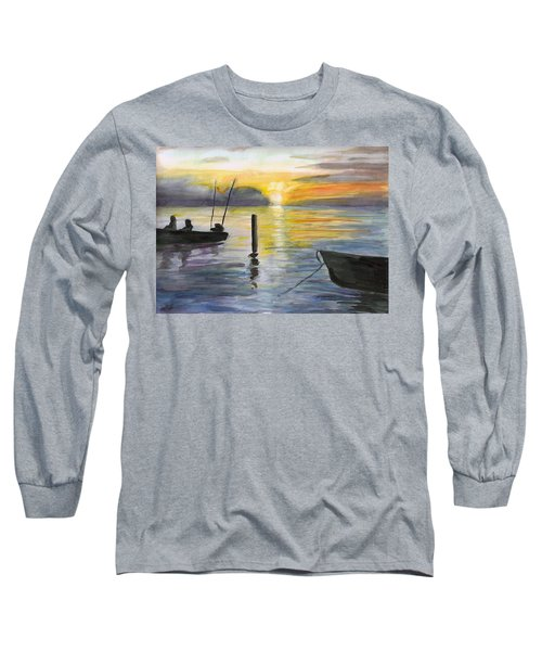 Chesapeake Sunset Long Sleeve T-Shirt