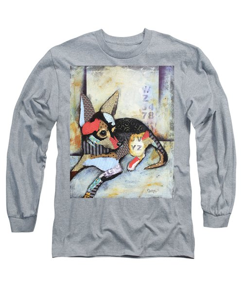Chihuahua Long Sleeve T-Shirt by Patricia Lintner