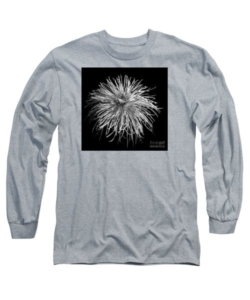 Chrysanthemum 'pink Splendor' Long Sleeve T-Shirt