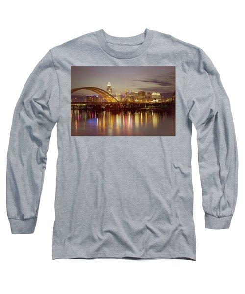 Cincinnati Long Sleeve T-Shirt by Scott Meyer