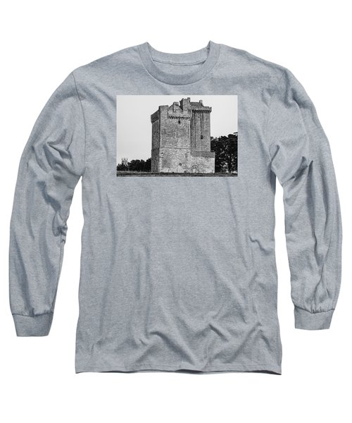 Clackmannan Tower Long Sleeve T-Shirt by Jeremy Lavender Photography