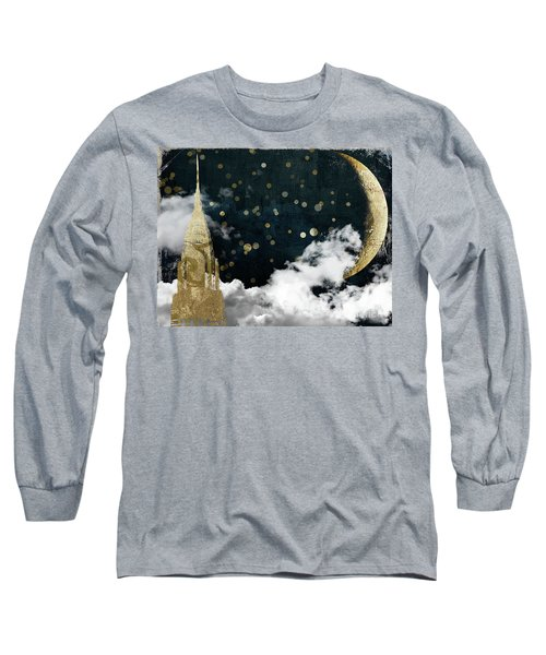Cloud Cities New York Long Sleeve T-Shirt