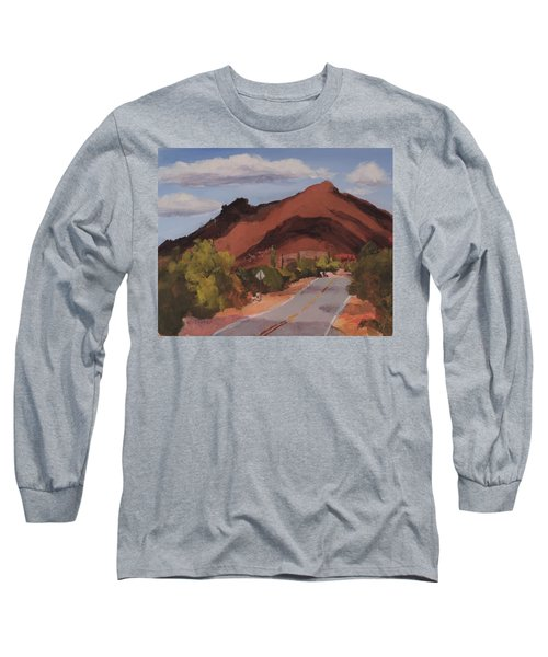 Cloud Shadows On Black Mountain Long Sleeve T-Shirt
