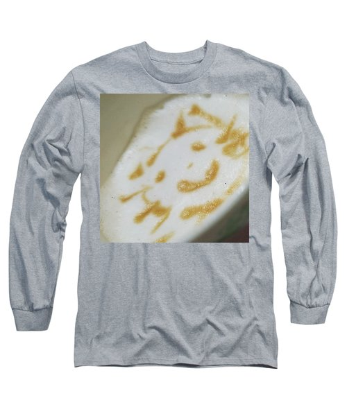 Coffeeart Kitten  Long Sleeve T-Shirt