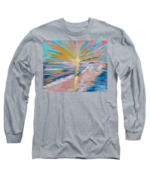 Collection. Art For Health And Life. Painting 5 Long Sleeve T-Shirt