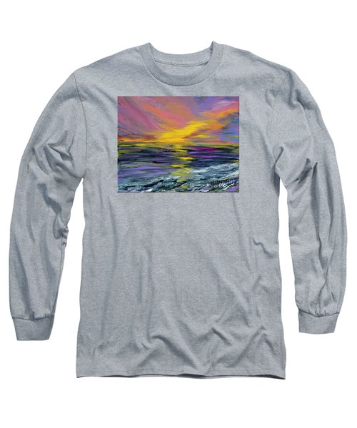Collection Art For Health And Life. Painting 8 Long Sleeve T-Shirt by Oksana Semenchenko