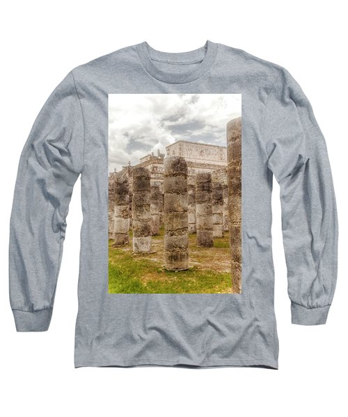Colomnade Of Warriors Long Sleeve T-Shirt