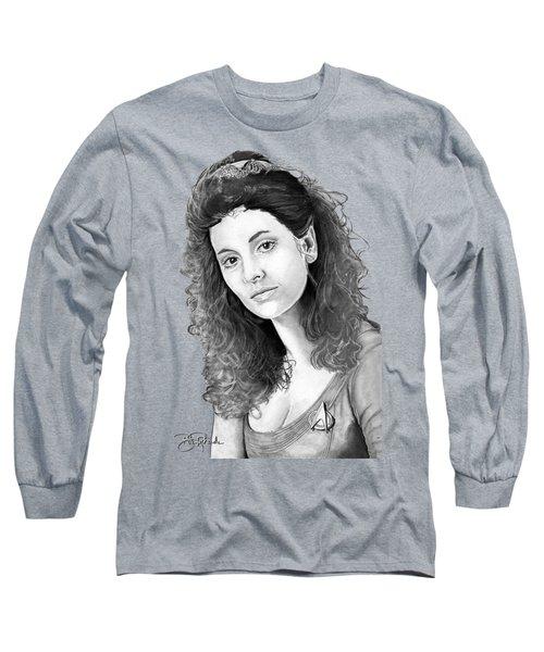 Counselor Deanna Troi Long Sleeve T-Shirt