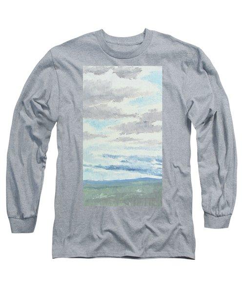 Dagrar Over Salenfjallen- Shifting Daylight Over Distant Horizon 9 Of 10_0029 Long Sleeve T-Shirt