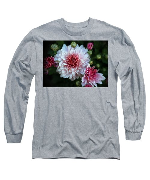 Dahlia Burst Long Sleeve T-Shirt