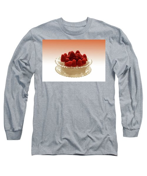 Delicious Raspberries Long Sleeve T-Shirt by David French