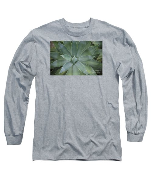 Detail Of An Agave Attenuata Long Sleeve T-Shirt
