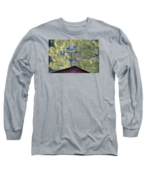 Direction  Long Sleeve T-Shirt by Juls Adams