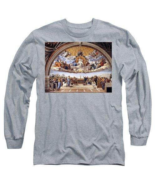 Disputation Of The Eucharist Long Sleeve T-Shirt