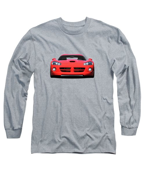 Dodge Viper Long Sleeve T-Shirt by Mark Rogan