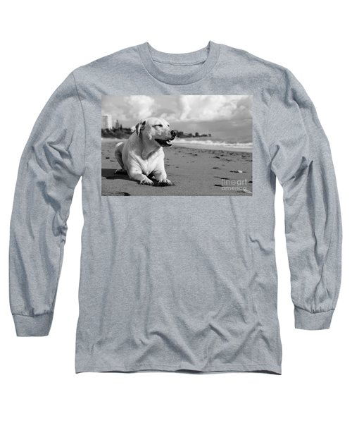 Dog - Monochrome 5  Long Sleeve T-Shirt