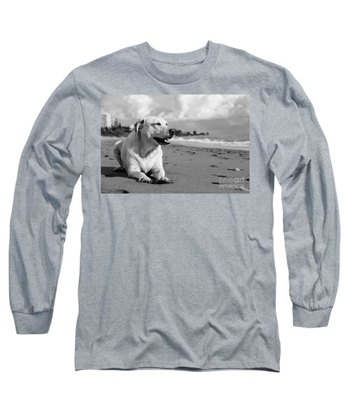Dog - Monochrome 5  Long Sleeve T-Shirt
