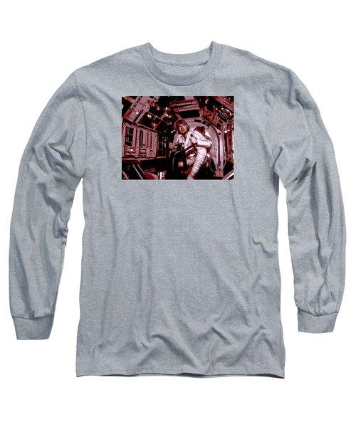Don't Get Cocky, Kid Long Sleeve T-Shirt by Kurt Ramschissel