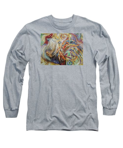 Doodle Do Long Sleeve T-Shirt by Heather Roddy