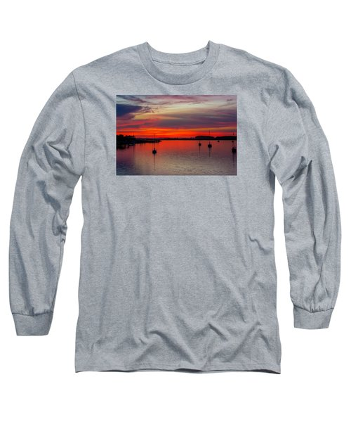 Dusk Long Sleeve T-Shirt by RC Pics