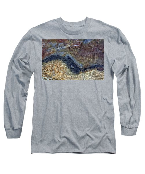 Earth Portrait 000-205 Long Sleeve T-Shirt