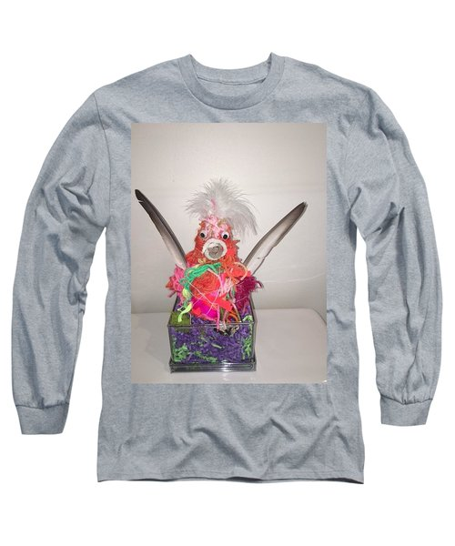 Sold Funky Chicken Long Sleeve T-Shirt