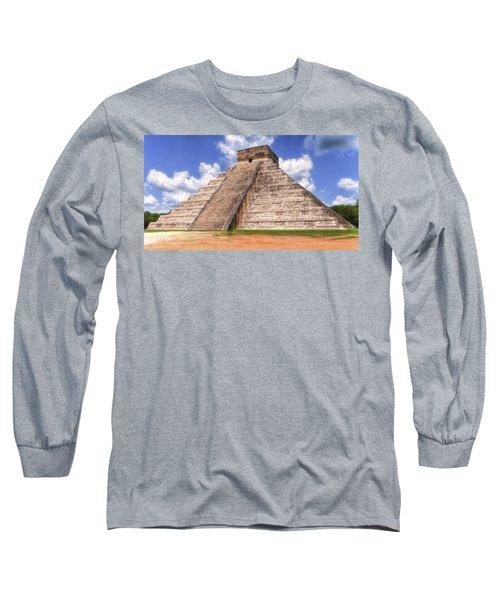 El Castillo Long Sleeve T-Shirt