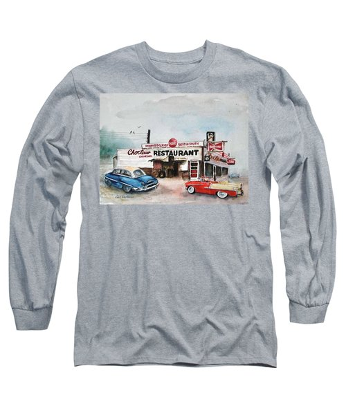 Elvis Has Left The Building. Long Sleeve T-Shirt