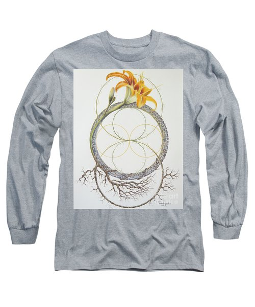 Energy Of The Tigerlily Long Sleeve T-Shirt