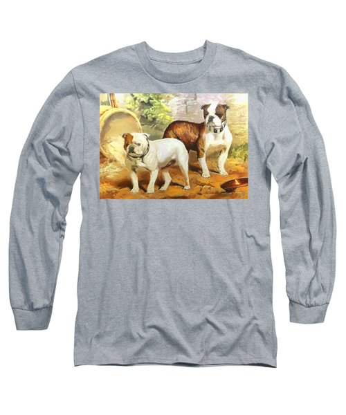 English Bulldogs Long Sleeve T-Shirt