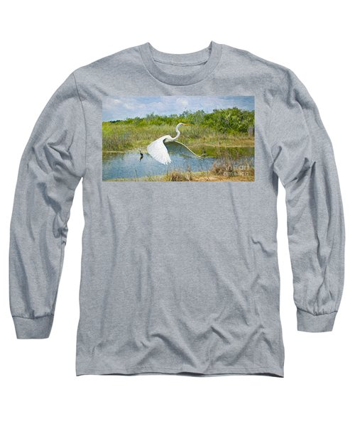 Everglades Impressions Long Sleeve T-Shirt