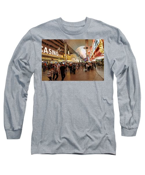 Experience This Long Sleeve T-Shirt