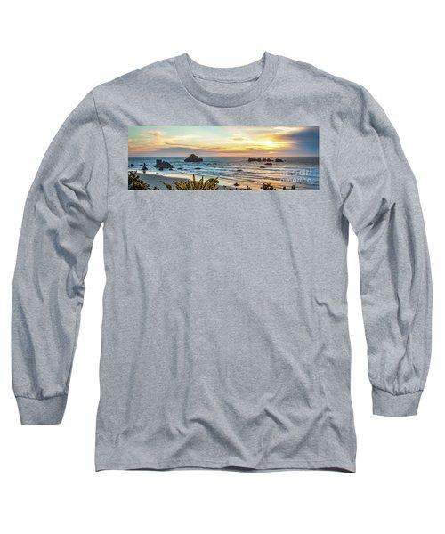 Face Rock At Sunset Long Sleeve T-Shirt