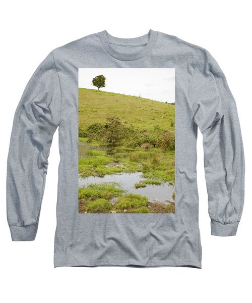 Long Sleeve T-Shirt featuring the photograph Fairy Tree In Ireland by Ian Middleton