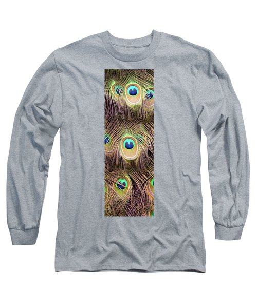 Long Sleeve T-Shirt featuring the photograph Fan Of Feathers by Joye Ardyn Durham