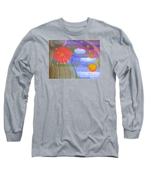Fantasy Garden Long Sleeve T-Shirt by Rod Ismay
