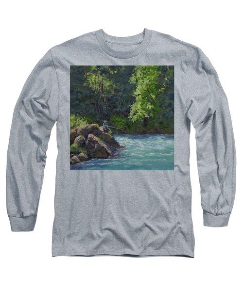 Favorite Spot Long Sleeve T-Shirt by Karen Ilari