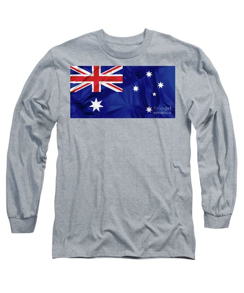 Flag Of Australia Long Sleeve T-Shirt