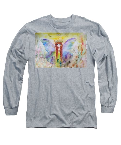 Flower Fairy  Long Sleeve T-Shirt
