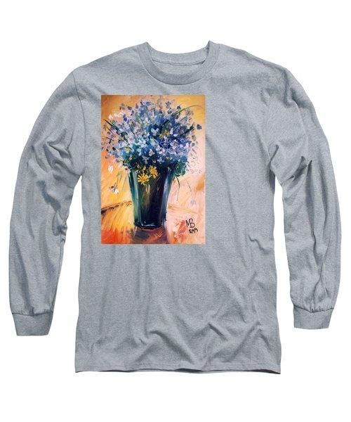 Flowers Long Sleeve T-Shirt by Mikhail Zarovny