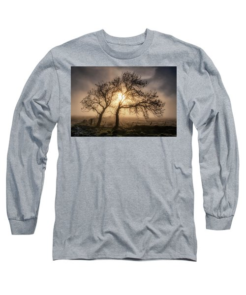 Long Sleeve T-Shirt featuring the photograph Foggy Morning by Jeremy Lavender Photography
