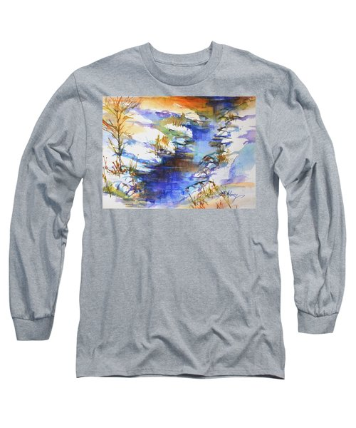 For Love Of Winter #3 Long Sleeve T-Shirt by Betty M M Wong