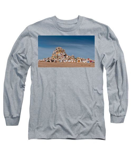 Fort Irwin Long Sleeve T-Shirt by Jim Thompson