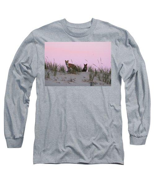 Fox And Vixen Long Sleeve T-Shirt
