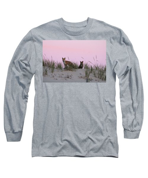 Fox And Vixen Long Sleeve T-Shirt