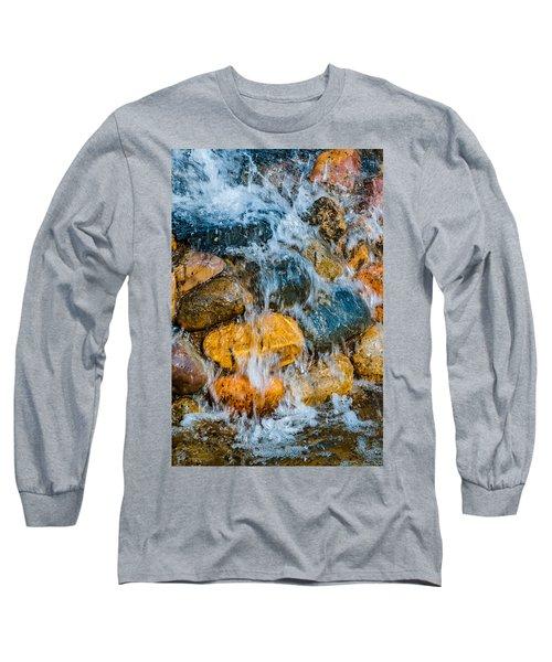 Long Sleeve T-Shirt featuring the photograph Fresh Water by Alexander Senin